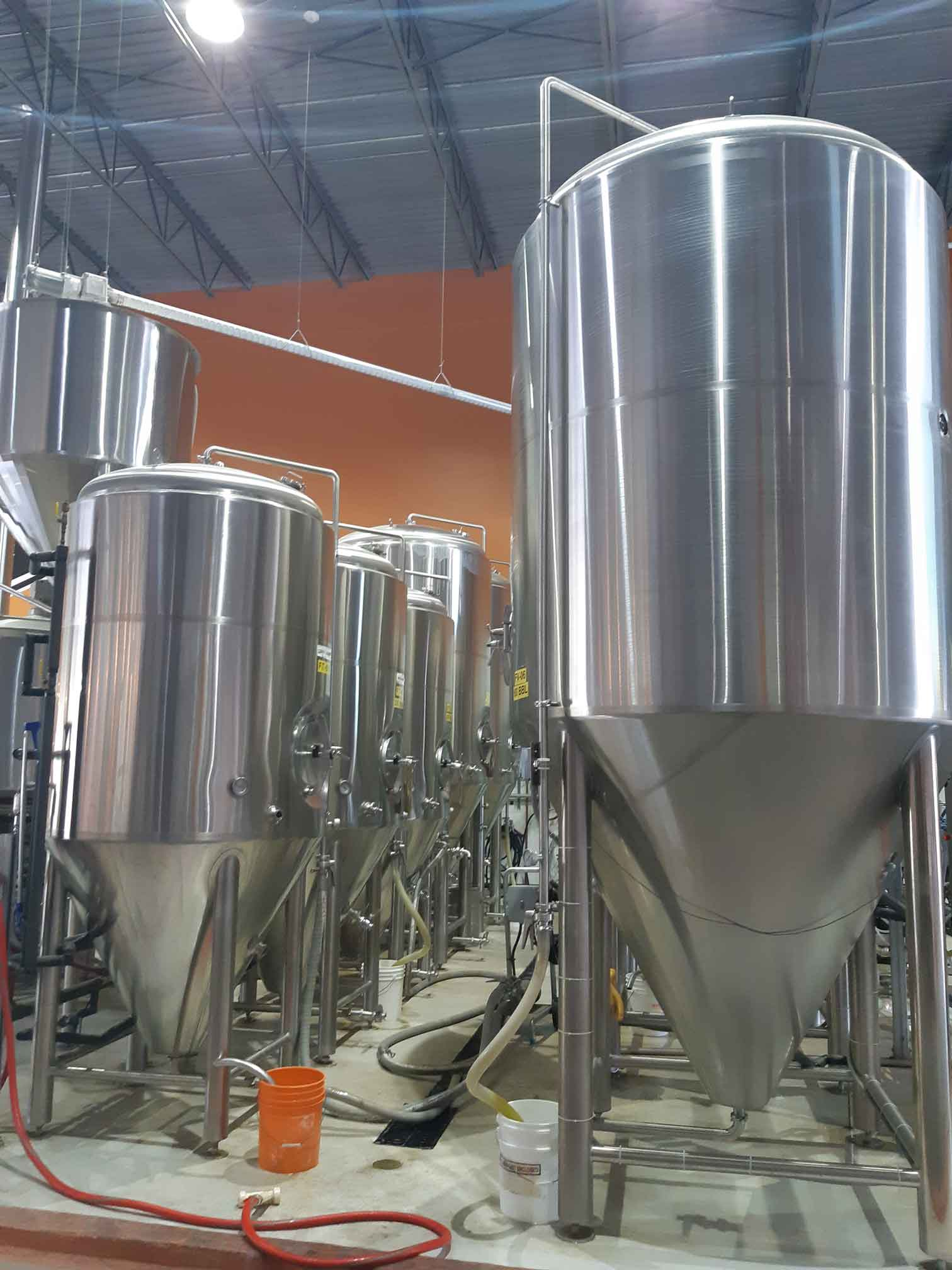 how beer is made fermentation tanks