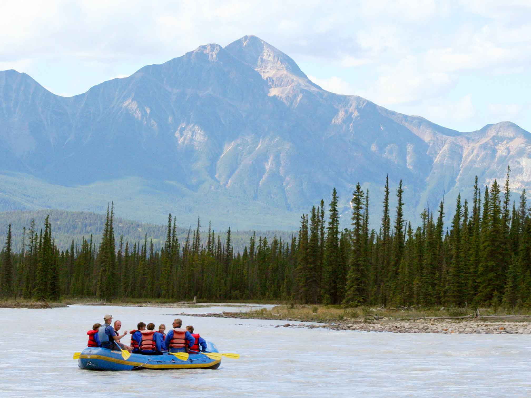 Jasper Summer Adventures: Rafting with Rocky Mountain River Guides