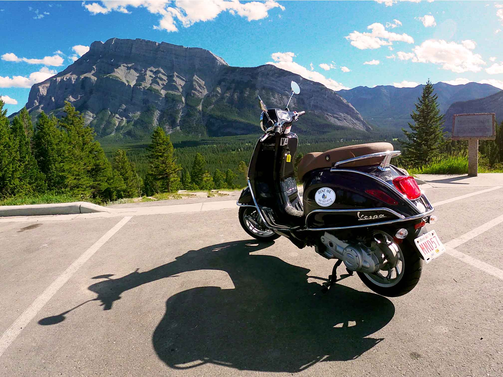 Banff By Scooter at Tunnel Mountain