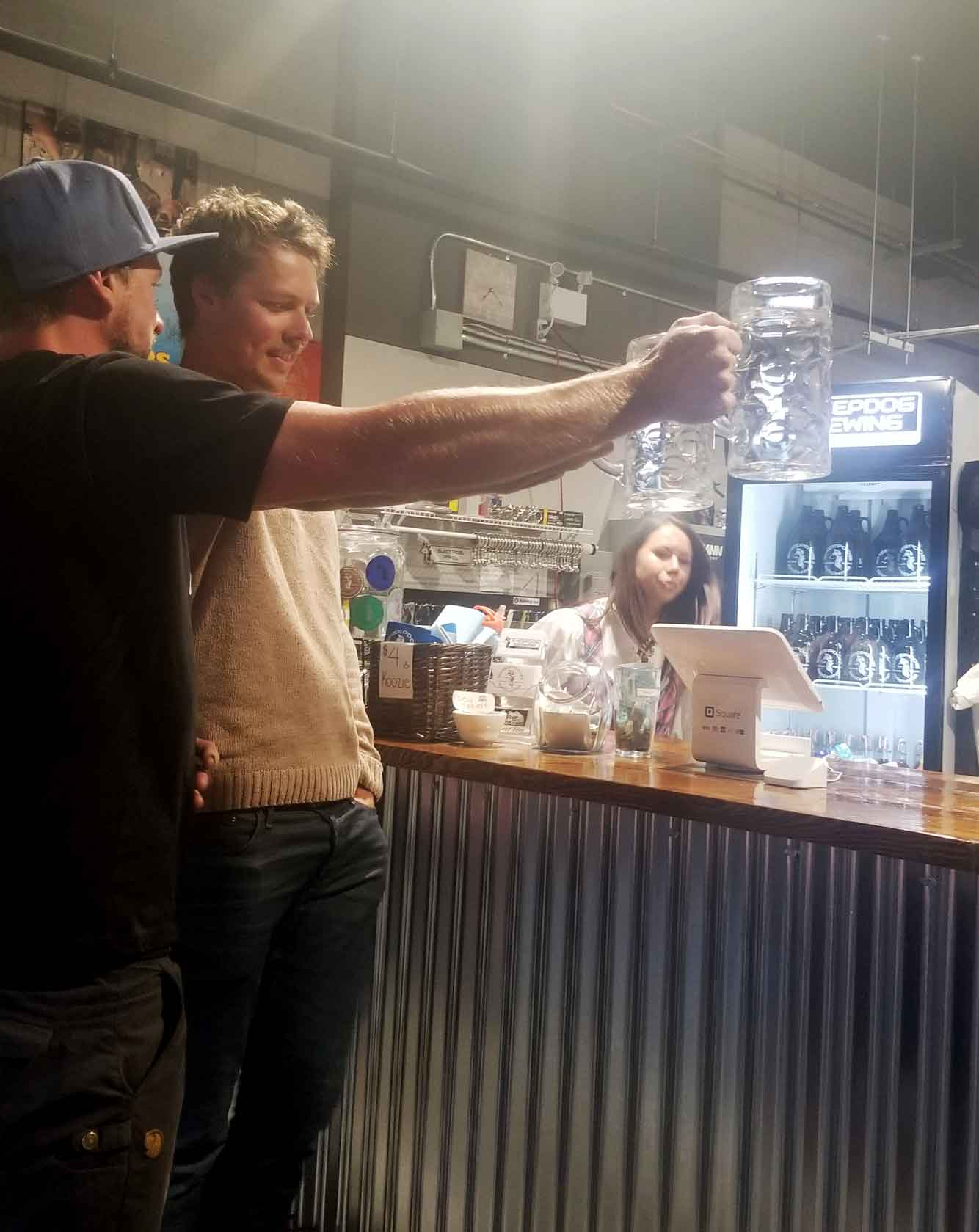 Beer Challenge at Oktoberfest at Sheepdog Brewery