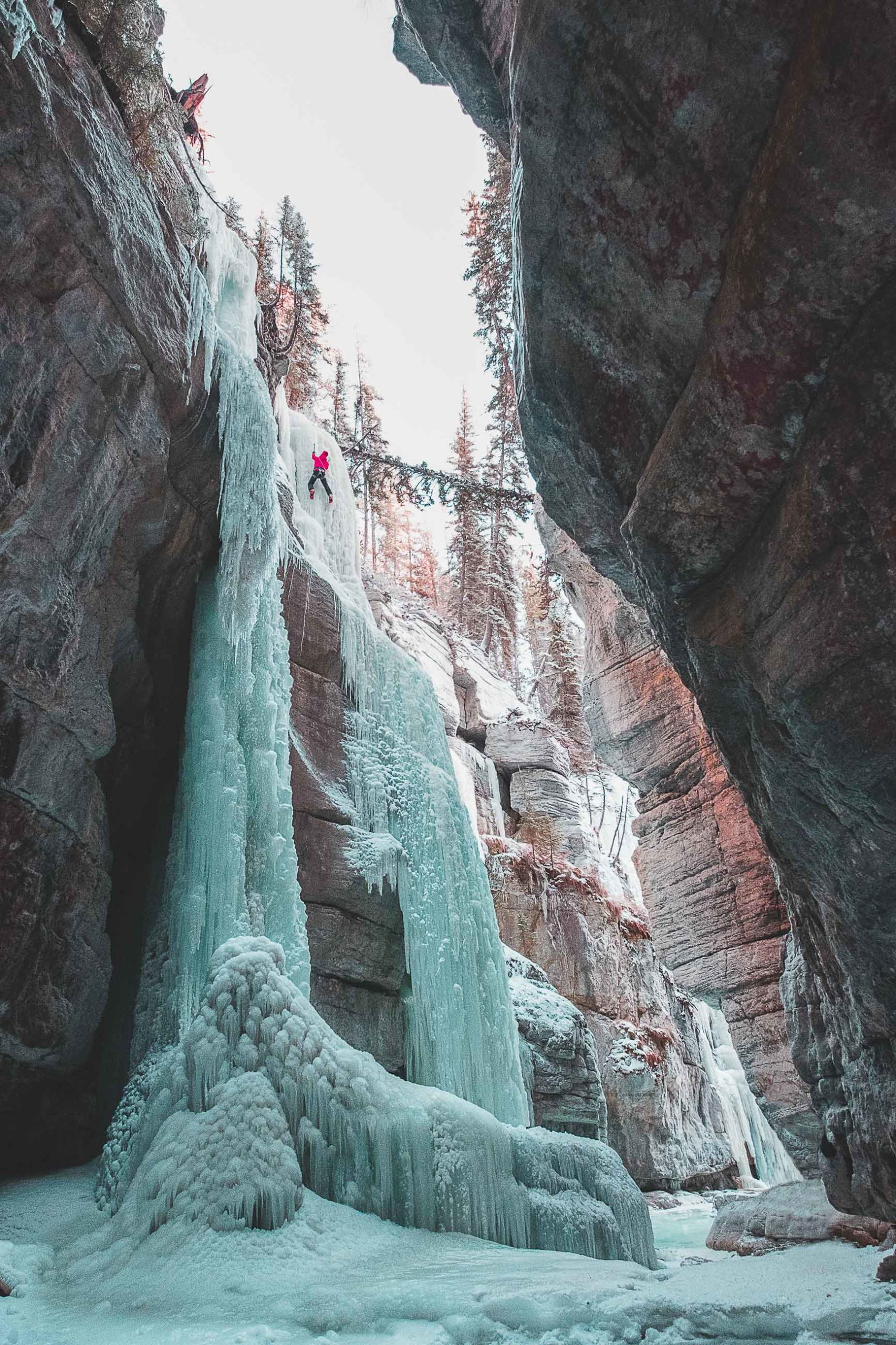 Ice Climbing Photography by Tyler Weber